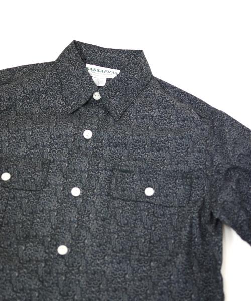 ササフラス Botanical Scout Apron Shirt