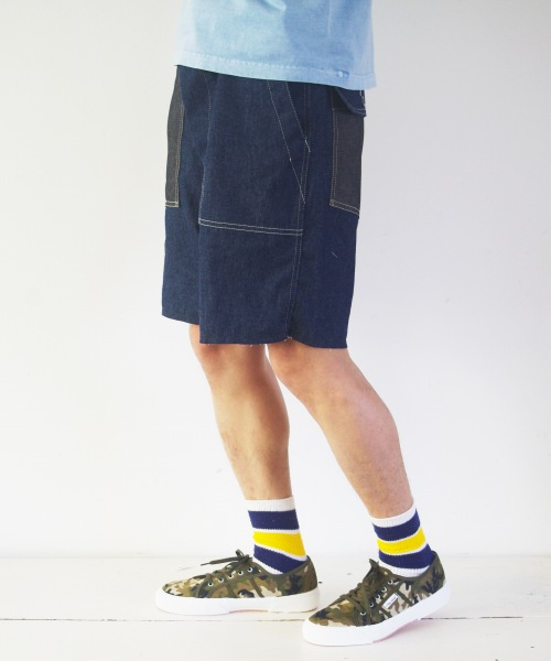 Engineered Garments Workaday/エンジニアド ガーメンツ ワーカデイ Fatigue Short 6oz Denim / Combo