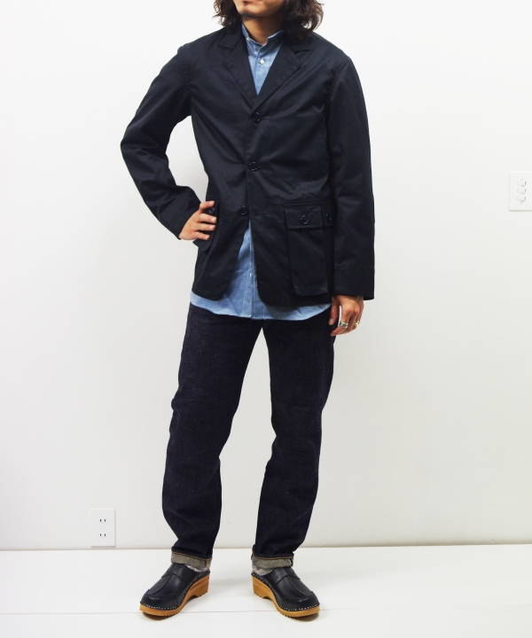 Sassafras/ササフラス G.D.U. LEAF JACKET - COTTON GABARDINE