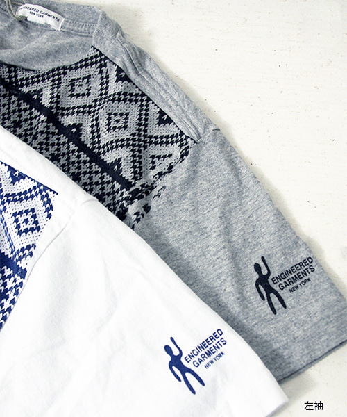 エンジニアドガーメンツ Printed Pocket T-Shirts