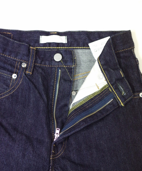 HATSKI/ハツキ Regular Tarperd Denim